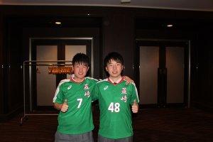 韮崎高校サッカー部のときの写真