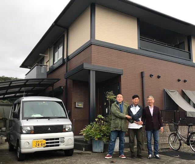 韮崎にオープンするゲストハウスの写真