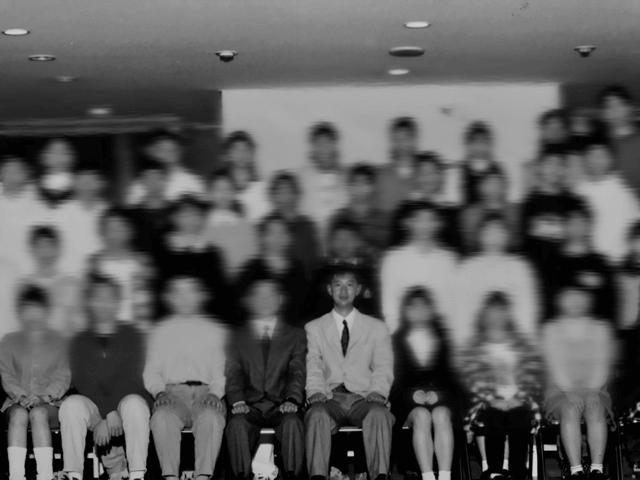 相良さん教員時代のクラス写真。