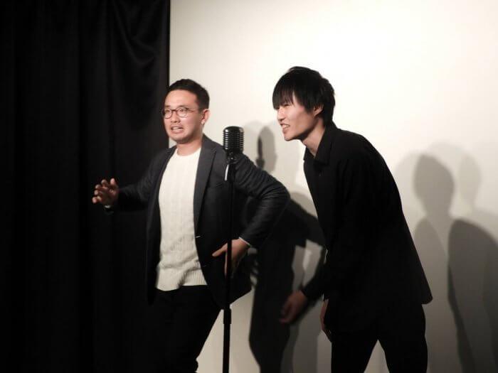 保坂俊希お笑いライブの様子