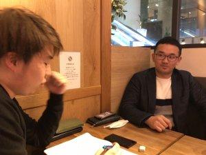 保坂俊希インタビュー中の写真2