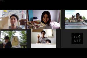「韮崎のテイクアウト飯を持ち寄っておうちでオンライン食レポ会してみた」アイキャッチ画像