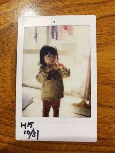 齊藤聖奈幼少期の写真