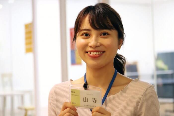 韮崎市役所教育課で成人式担当の山寺さん