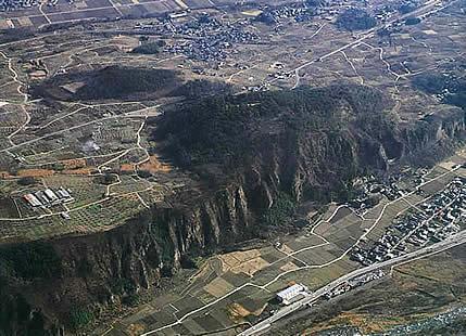 新府城跡の写真