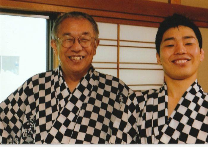 柳橋師匠と弁橋さん