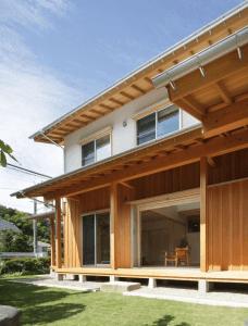 横浜時代に心ときめかせていた木の家の写真