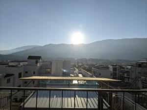 恵比寿家の屋上からの景色